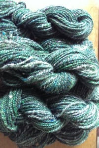 Handspun two-ply