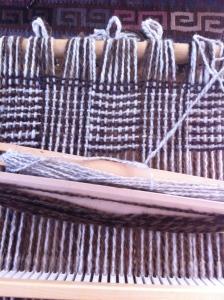 log cabin weave