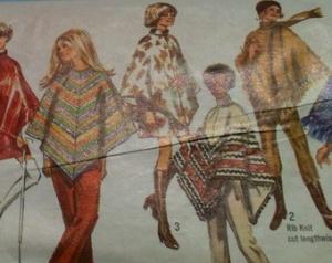 Afghan ponchos