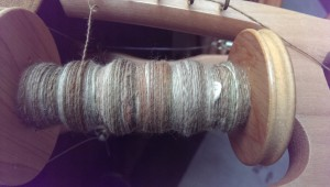 Chocolately handspun