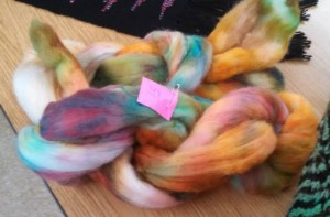 Sophisticated roving with color blending.