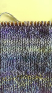Two-ply close-up: muted blues