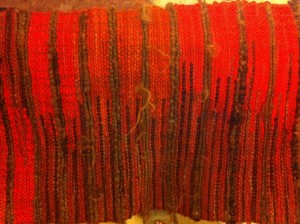 Weaving with art yarn