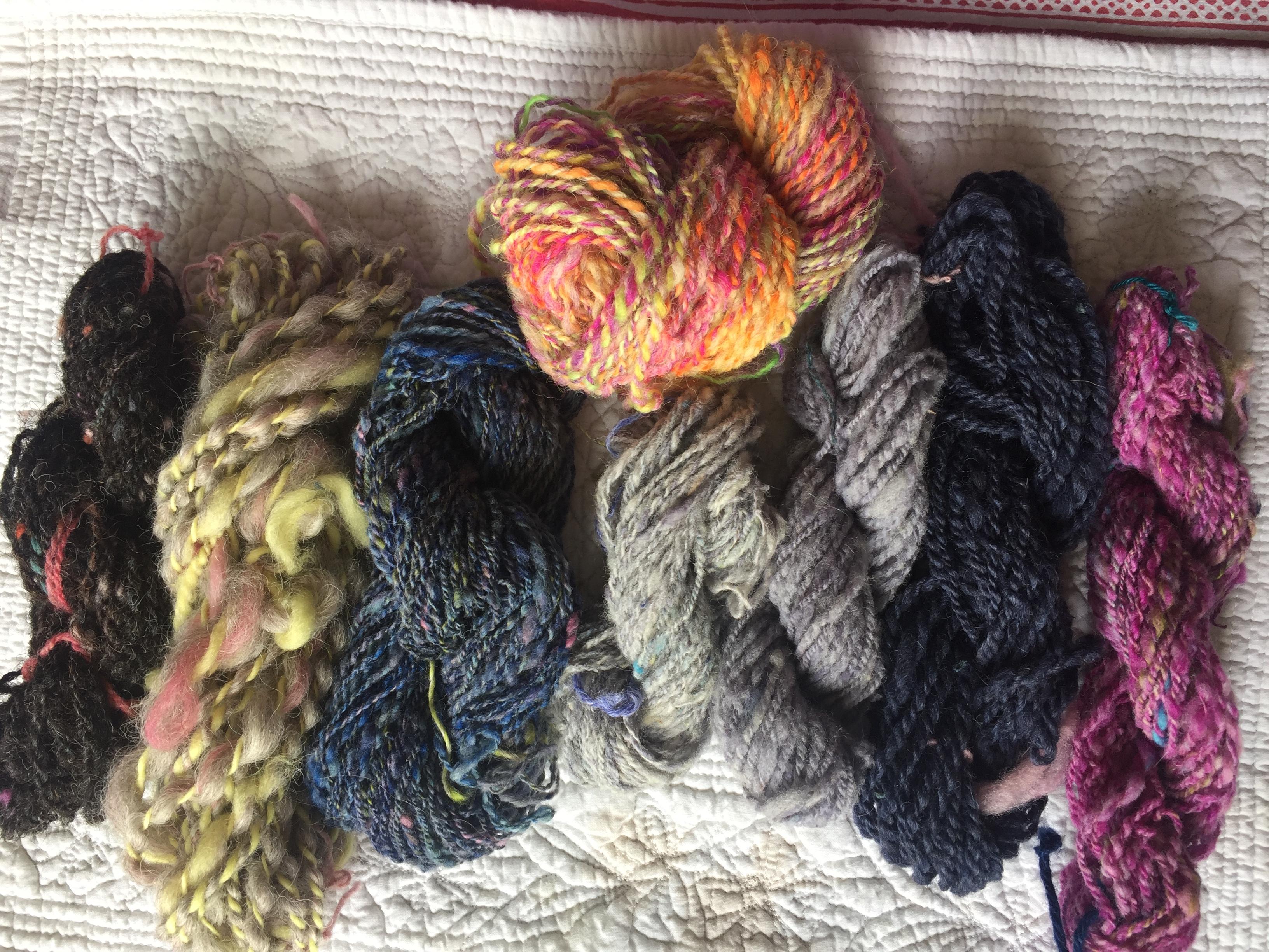 Handspun yarn gift for knitter weaving yarn Christmas gift birthday gift Gift Certificate 75 Dollars Mother/'s Day gift for her
